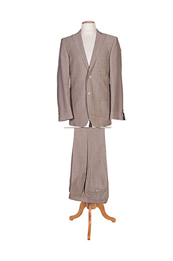 Costume de ville marron DANIEL HECHTER pour homme