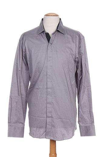 barbour chemises homme de couleur gris