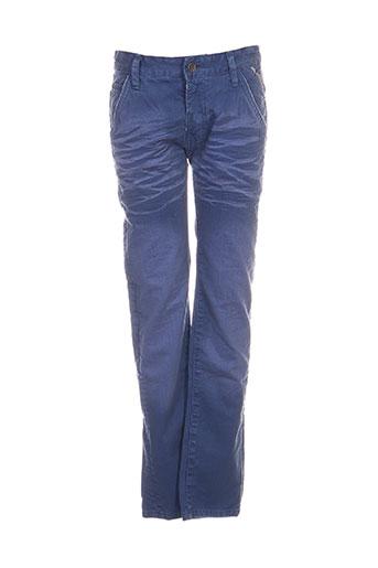 ritchie jeans garçon de couleur bleu