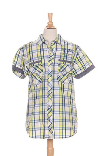 tiffosi chemises garçon de couleur jaune