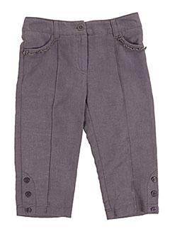Pantalon casual gris COUDEMAIL pour fille