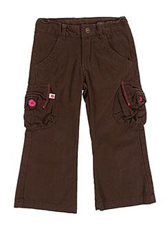Pantalon casual marron GIRANDOLA pour fille