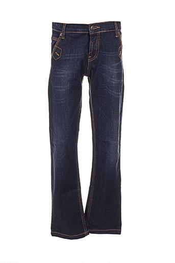 girandola jeans garçon de couleur bleu