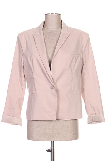 Veste chic / Blazer beige LOLA pour femme