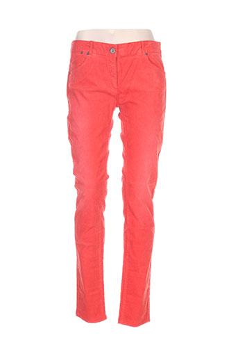 american outfitters pantalons femme de couleur rouge