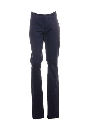 mexx pantalons femme de couleur bleu