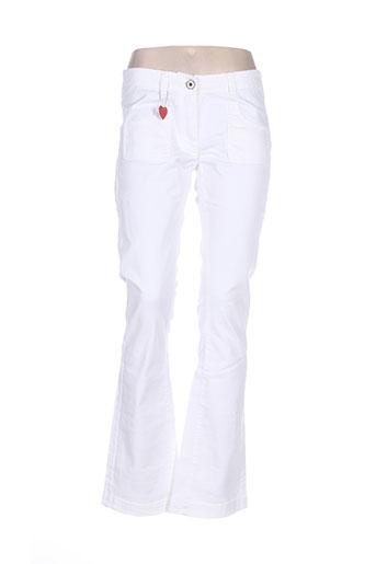 Pantalon casual blanc AMERICAN OUTFITTERS pour femme
