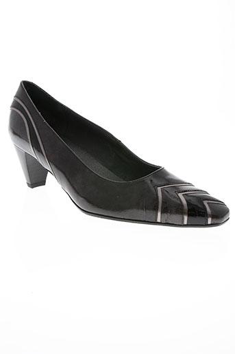 mondrie chaussures femme de couleur gris