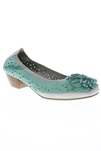 dizo chaussures femme de couleur vert