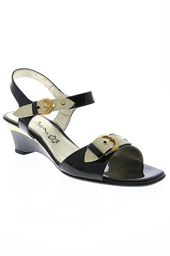 vista collections chaussures femme de couleur noir