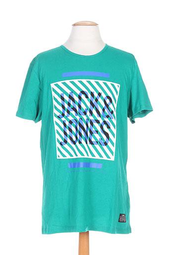 jack EFFI_CHAR_1 jones t-shirts homme de couleur vert