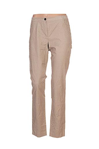 esprit pantalons femme de couleur beige