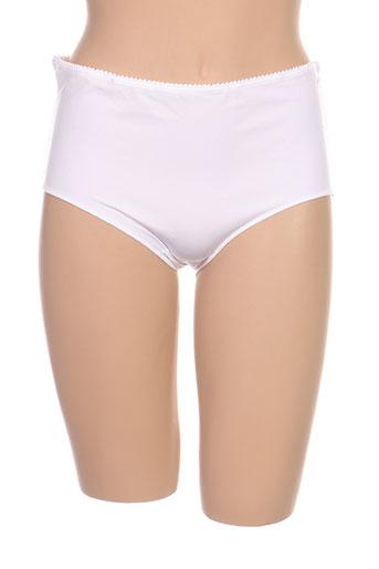 elixir lingerie femme de couleur blanc
