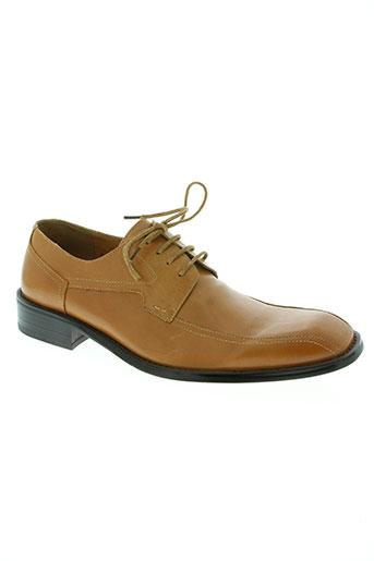 enzo tesoti chaussures homme de couleur marron
