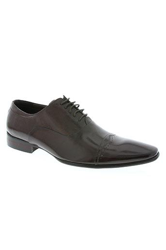 lorenzo conti chaussures homme de couleur marron