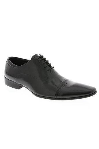 lorenzo conti chaussures homme de couleur noir