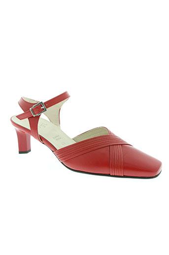 hogl chaussures femme de couleur rouge