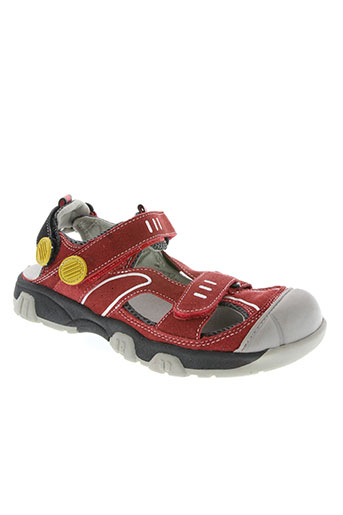 otway chaussures garçon de couleur rouge