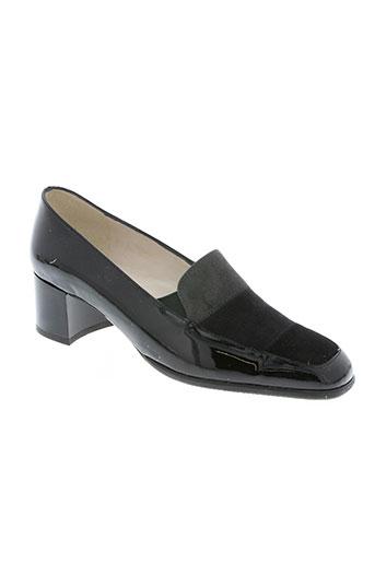 bertin chaussures femme de couleur noir