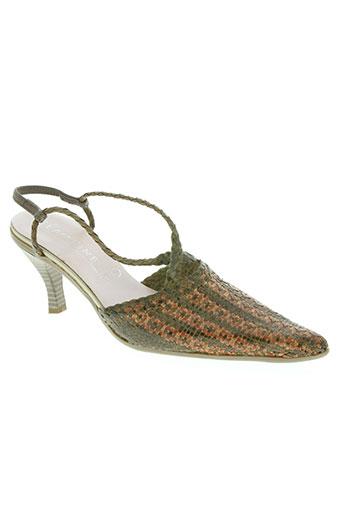 eglantine chaussures femme de couleur marron