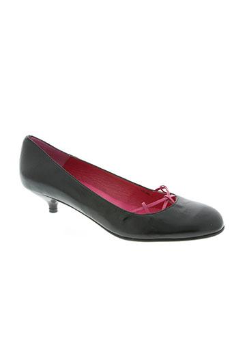 krystel chaussures femme de couleur noir