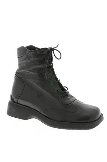 tratti chaussures femme de couleur noir