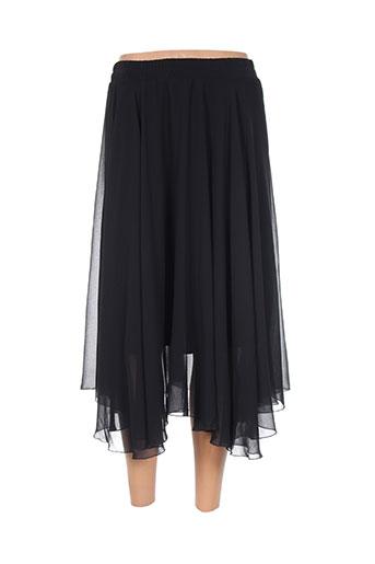 evalinka jupes femme de couleur noir