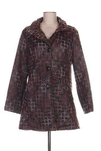 chrismas's manteaux femme de couleur marron