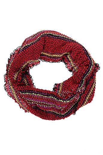 malfroy accessoires femme de couleur rouge