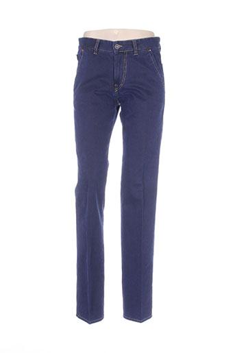 digel jeans homme de couleur bleu