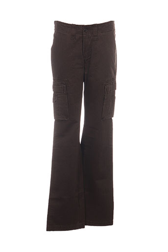 teddy smith pantalons femme de couleur marron