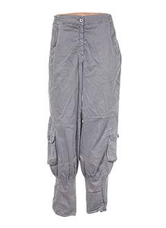Pantalon casual gris HEBBEDING pour femme