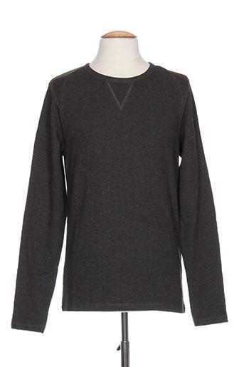 jack EFFI_CHAR_1 jones t-shirts homme de couleur noir