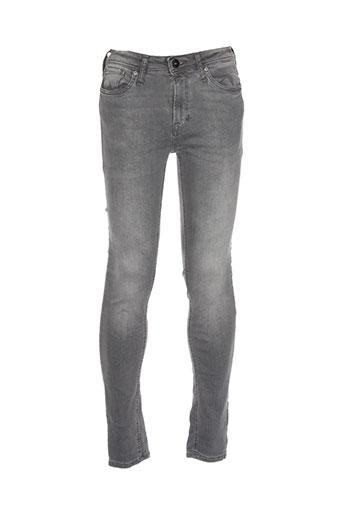 jack EFFI_CHAR_1 jones pantalons homme de couleur gris
