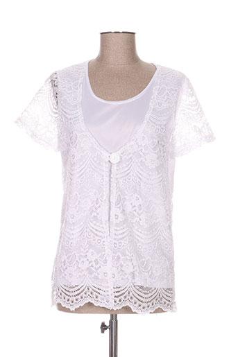 griffon chemises femme de couleur blanc