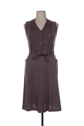 griffon robes femme de couleur marron