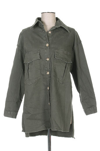 senes vestes homme de couleur vert