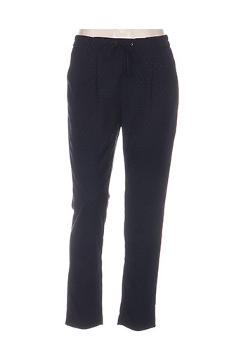 la petite etoile pantalons femme de couleur bleu