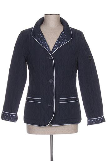 Veste casual bleu BULTÉ pour femme