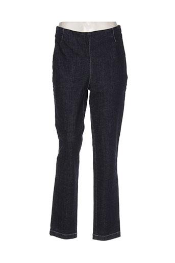 elemente clemente jeans femme de couleur bleu