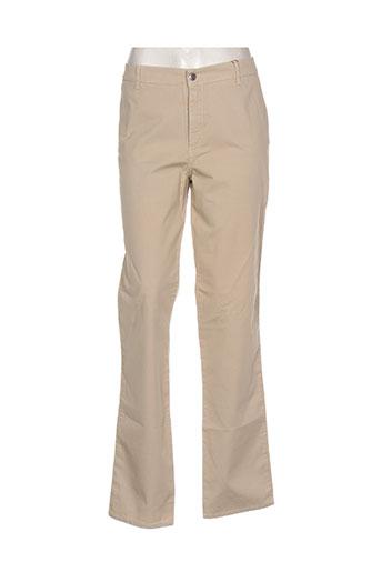 diplodocus jeans femme de couleur beige