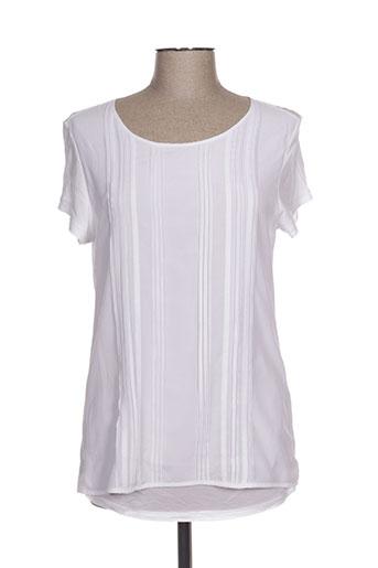 olsen chemises femme de couleur blanc