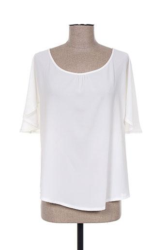 france rivoire chemises femme de couleur blanc