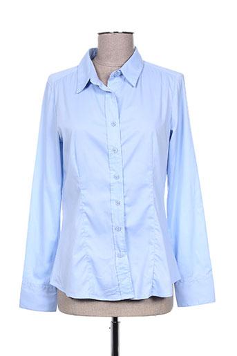 diego reiga chemises femme de couleur bleu