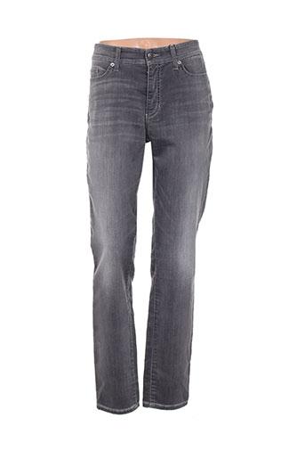 cambio jeans femme de couleur gris