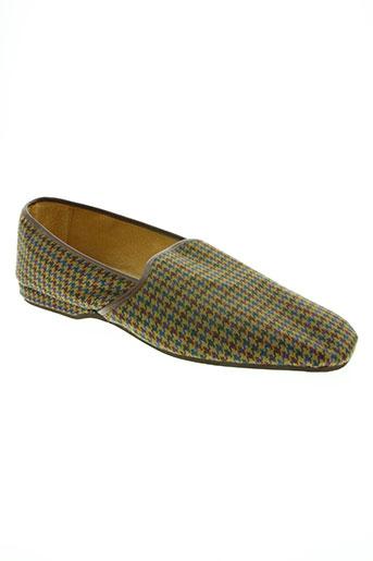 maly de paris chaussures homme de couleur marron