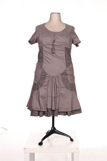 jean gabriel robes femme de couleur marron