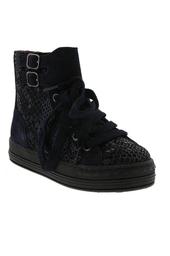 mod 8 chaussures fille de couleur bleu