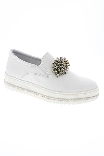 altraofficina chaussures femme de couleur blanc