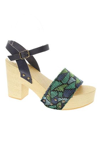 antidoti chaussures femme de couleur vert